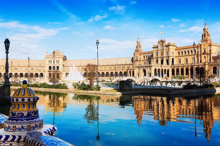 Place d'Espagne, Séville, Andalousie