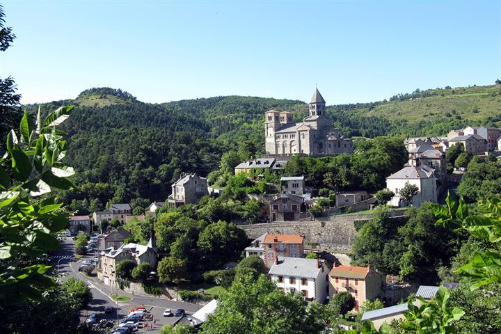 Village of Saint Nectaire, Puy de Dôme, France