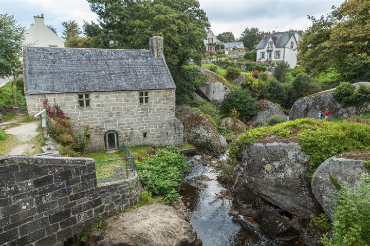 Commune de Huelgoat, Bretagne