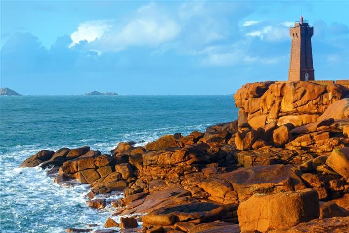 The Ploumanach Lighthouse, Brittany