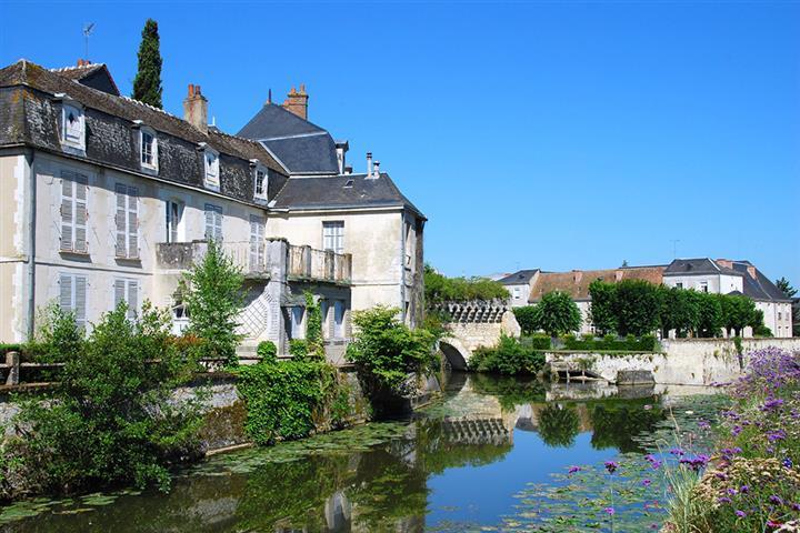 The Loir at Vendôme, Loir-et-Cher