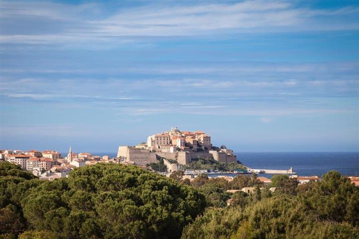 Town of Calvi, Corsica