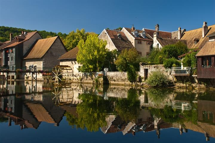 The village of Ornans