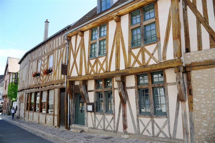 Half timbered house in Provins