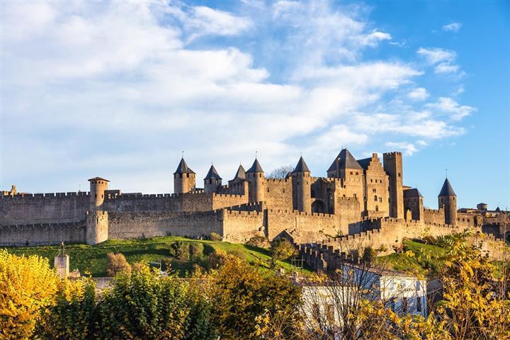 La ville fortifiée de Carcassonne