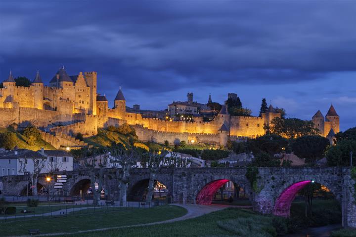 La Citadelle de Carcassonne, Aude