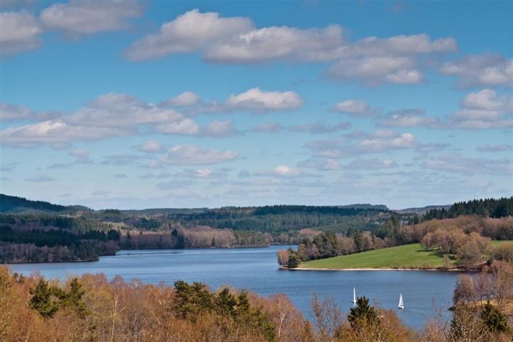 Vassivière Lake, Limousin