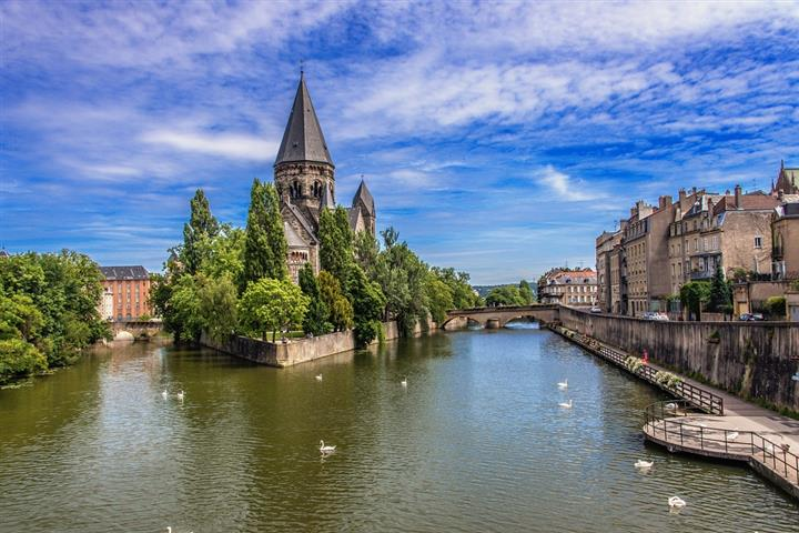 The town of Metz