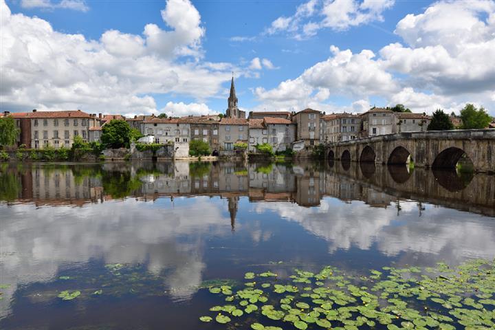 La Vienne à Confolens, Charente