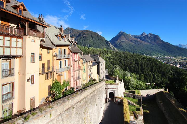 Porte d'Embrun in Briançon, Hautes-Alpes