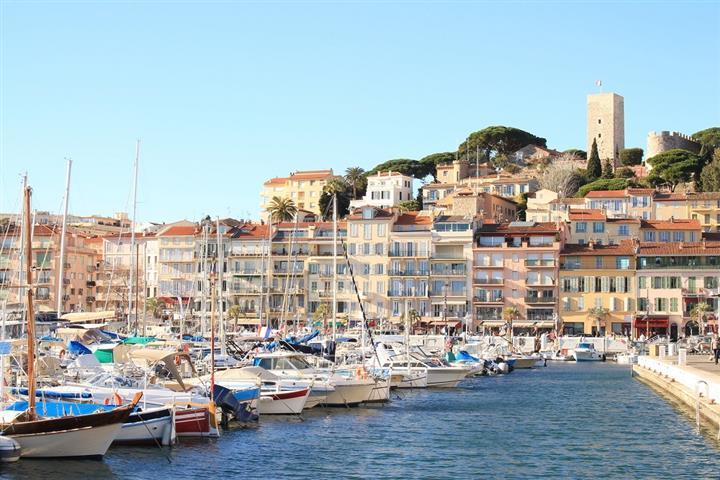 Le Suquet et le Vieux Port de Cannes
