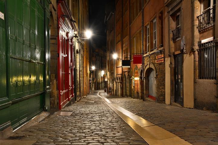 Une rue du vieux Lyon